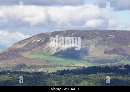 Benbulbin in County Sligo, Ireland. - Stock Photo