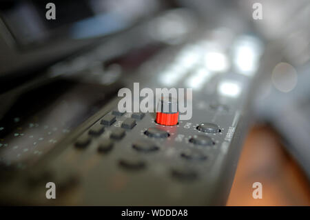 Knob Of Videocassette Recorder - Stock Photo
