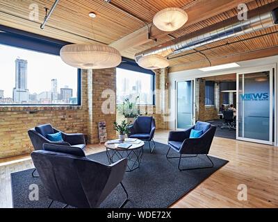 Toronto software company office - Stock Photo