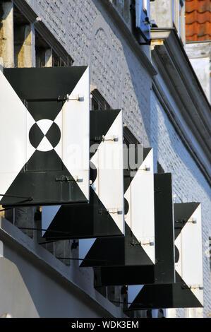 Middelburg, Zeeland, Netherlands, Europe - Stock Photo
