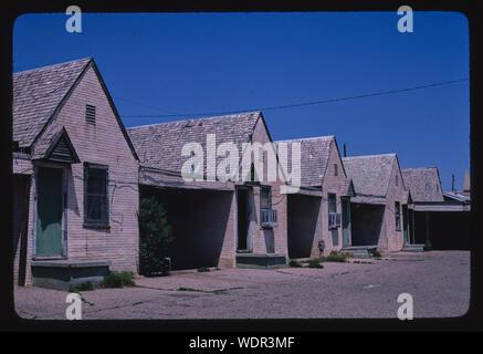 Green Gables Motel, Amarillo, Texas - Stock Photo