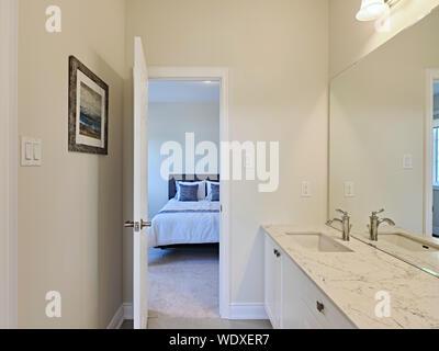 model home - Stock Photo