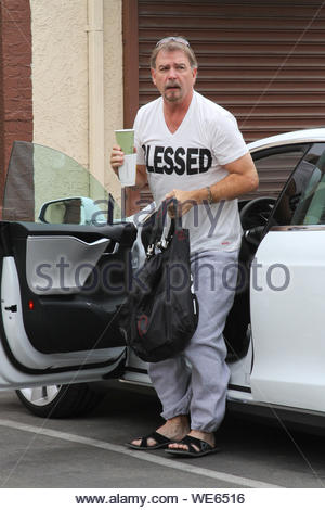 Hollywood, CA - Bill Engvall gets ready to rehearse for 'Dancing With The Stars'. AKM-GSI October 24, 2013 - Stock Photo