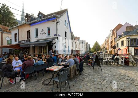 France, Somme, Amiens, place du Don - Stock Photo