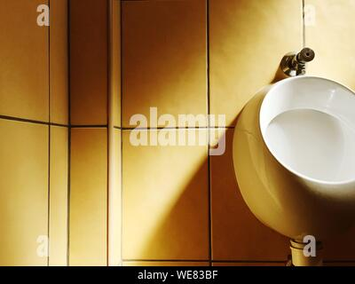 Urinal In Bathroom - Stock Photo