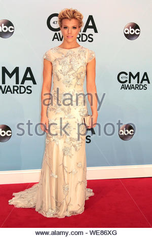 Nashville, TN - Kimberly Perry of The Band Perry attends the 2013 Country Music Association Awards held at Bridgestone Arena in Nashville. AKM-GSI November 6, 2013 - Stock Photo