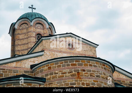 Tsarevets Fortress, Patriarchal Cathedral of the Holy Ascension of God in Veliko Tarnovo, Bulgaria - Stock Photo