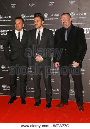 London, UK - Peter Andre arrives for the United for Unicef dinner gala at Manchester United's Old Trafford ground. AKM-GSI November 21, 2013 - Stock Photo