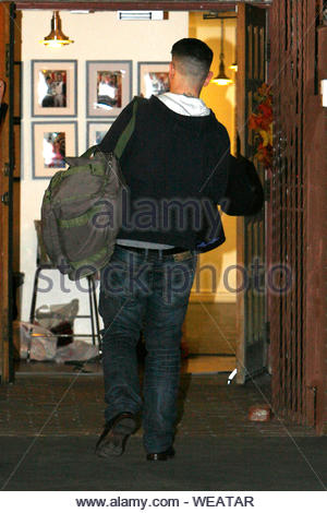 Hollywood, CA - Jack Osbourne gets in one final rehearsal before the 'Dancing With The Stars' Season 17 finale. AKM-GSI November 25, 2013 - Stock Photo