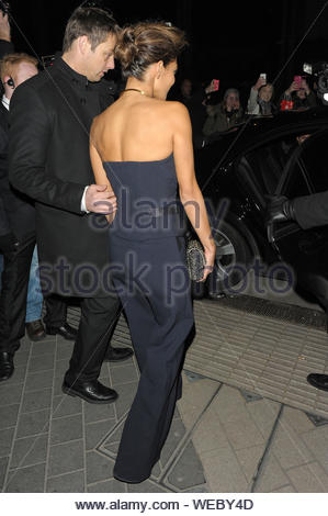 London, UK - Nicole Scherzinger attends the Cosmopolitan Ultimate Women of the Year Awards at V & A. AKM-GSI December 5, 2013 - Stock Photo