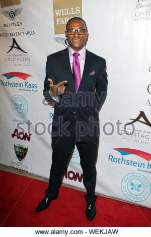 Beverly Hills, CA - Tommy Davidson at the Experience East Meets West honoring Beverly Hills' momentous centennial year, held at Crustacean. AKM-GSI February 5, 2014 - Stock Photo