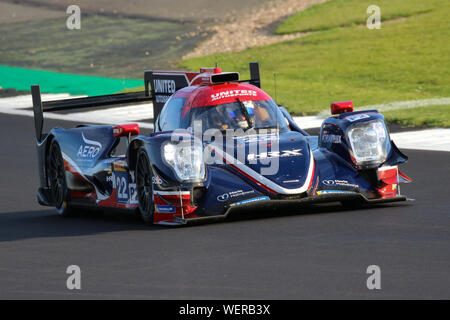 The #22 United Autosports Oreca 07-Gibson of Phil Hanson, Felipe Albuquerque and Paul Di Resta during practice for the FIA World Endurance Championshi - Stock Photo