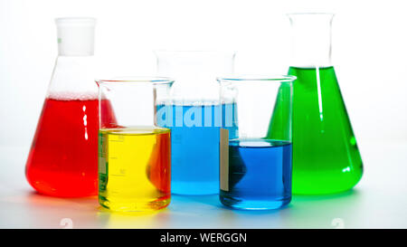 Chemistry, conceptual image - Stock Photo