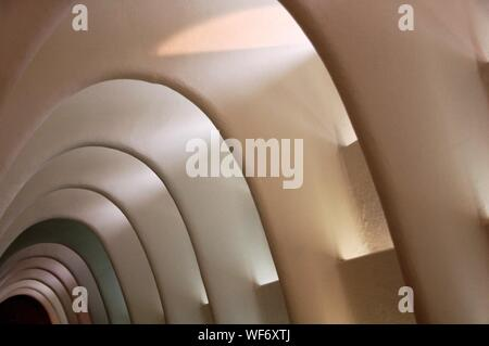 Catenary Arches In Casa Batllo - Stock Photo