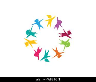 kids concept vector illustration icon design - Stock Photo
