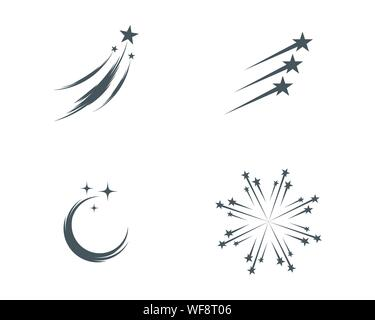 Star icon Template vector illustration design - Stock Photo