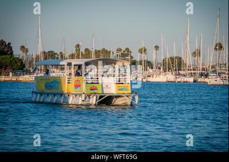 WaterBus Marina Del Rey - Stock Photo