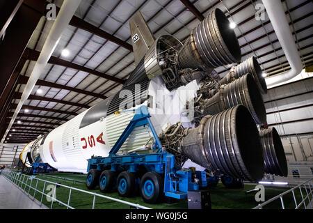 Saturn V rocket at NASA Johnson Space Center, Houston, Texas