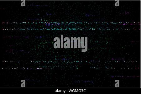 Glitch error template  Video problem concept  Color pixels