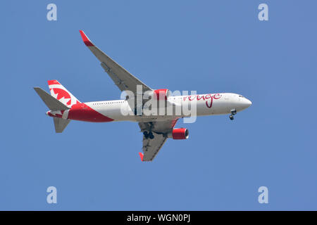 Air Canada Rouge - Boeing 767-333 airplane - Stock Photo