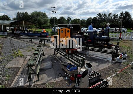 Hereford Society of Model Engineers open day, 28th July 2018 - Stock Photo