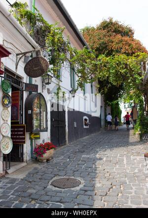Szentendre, a Danube riverside town. - Stock Photo