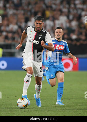EMRE CAN during Juventus Vs Napoli, Torino, Italy, 31 Aug 2019, Football Italian Soccer Serie A Men Championship - Stock Photo