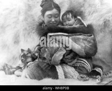 Film Still from Nanook of the North - Stock Photo