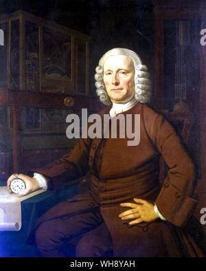 John Harrison 1693-1776 English Inventor and Horologist - Stock Photo