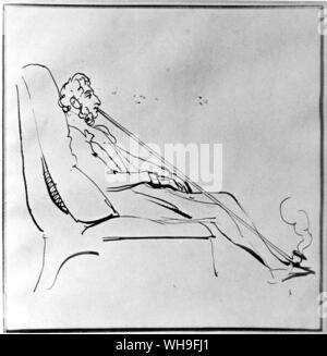 Edward Lytton Bulwer (1803-1873), 1st Baron Lytton, English writer. - Stock Photo