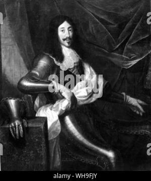 Louis XIII (1601-1643), King of France from 1610 (in succession to his father Henry IV). - Stock Photo
