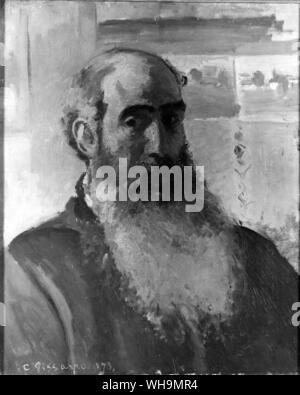 Camille Pissarro (1830-1903), French impressionist painter. - Stock Photo
