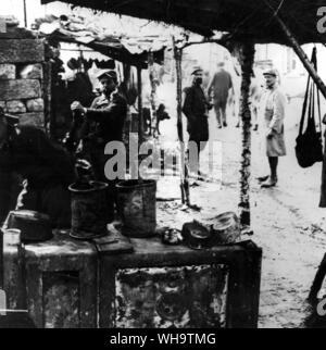 WW1/France: (No caption) - Stock Photo