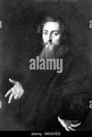 John Fletcher (1579-1625) was a Jacobean playwright - Stock Photo