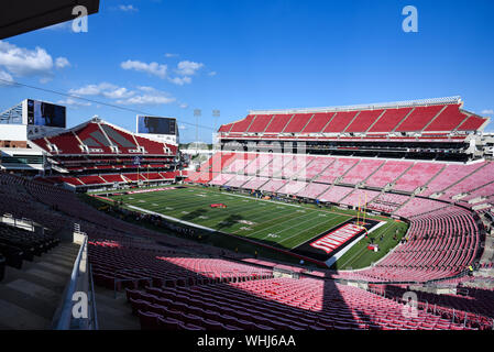 Louisville, KY, USA. 02nd Sep, 2019. during the NCAA ...