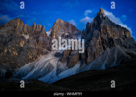 Panoramic View Of Mountains Against Sky - Stock Photo