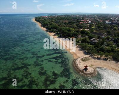 Scenic View Of Sea Against Sky - Stock Photo