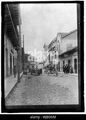 HONDURAS. STREET SCENE IN TEGUCIGALPA - Stock Photo