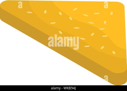 Greek cuisine icon, isometric style - Stock Photo