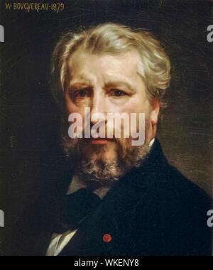 William-Adolphe Bouguereau, (1825-1905), Self Portrait, painting, 1879 - Stock Photo