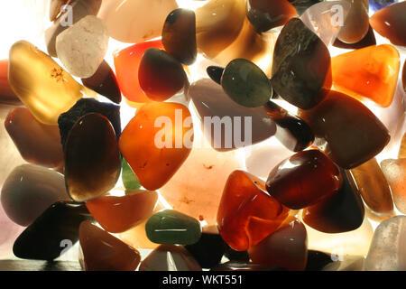 Close-up Of Semi-precious Gems - Stock Photo
