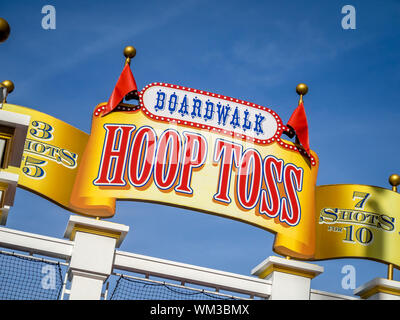 Hotels at the Disney World resort close to Orlando, Florida. - Stock Photo