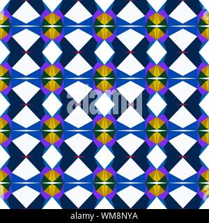 seamless pattern simple with wheat, very dark blue and snow colors. - Stock Photo