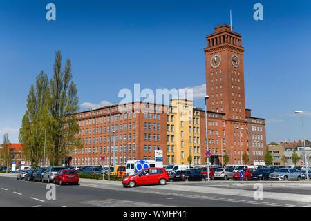 Thelen Technopark mit Siemensturm, Wohlrabedamm, Siemensstadt, Spandau, Berlin, Deutschland - Stock Photo