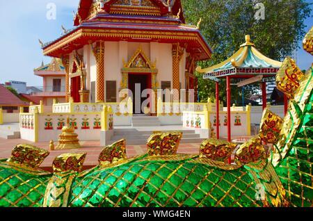 Wat Chayamangkalaram - Stock Photo