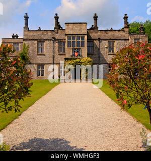 Tissington Hall Derbyshire - Stock Photo