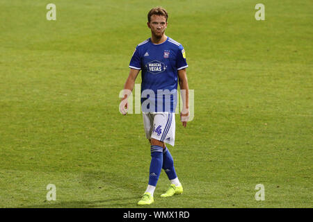 Emyr Huws of Ipswich Town - Ipswich Town v Tottenham Hotspur U21, Leasing.com Trophy, Portman Road, Ipswich, UK - 3rd September 2019  Editorial Use Only - DataCo restrictions apply - Stock Photo
