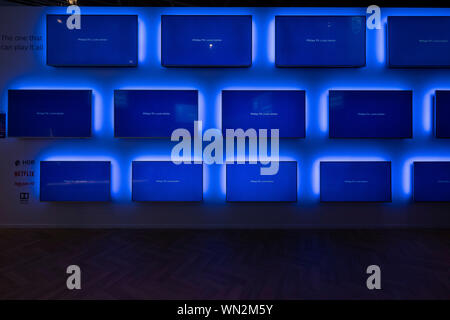 Berlin, Germany. 05th Sep, 2019. Philips Press Conference IFA (Photo by Beata Siewicz/Pacific Press) Credit: Pacific Press Agency/Alamy Live News - Stock Photo