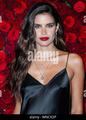 New York City, United States. 05th Sep, 2019. MANHATTAN, NEW YORK CITY, NEW YORK, USA - SEPTEMBER 05: Sara Sampaio arrives at Victoria's Secret Angel Sara Sampaio Hosts The Bombshell Intense Launch Party held at Paradise Club at the Times Square EDITION Hotel on September 5, 2019 in Manhattan, New York City, New York, United States. (Photo by Xavier Collin/Image Press Agency) Credit: Image Press Agency/Alamy Live News - Stock Photo