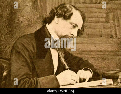 CHARLES DICKENS (1812-1870) English author and social critic - Stock Photo